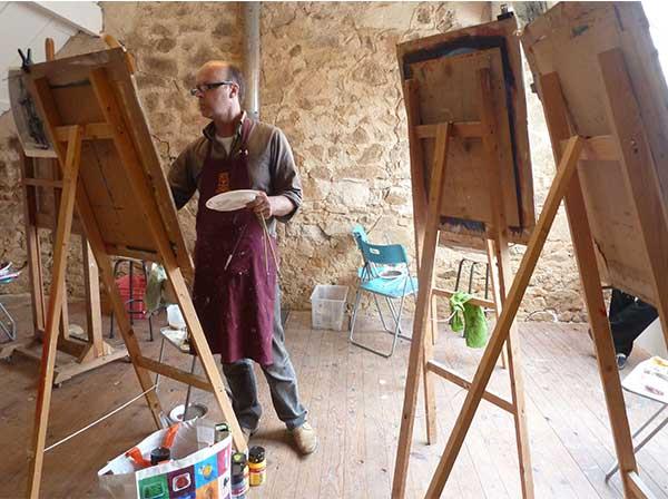 schilderen in de morvan