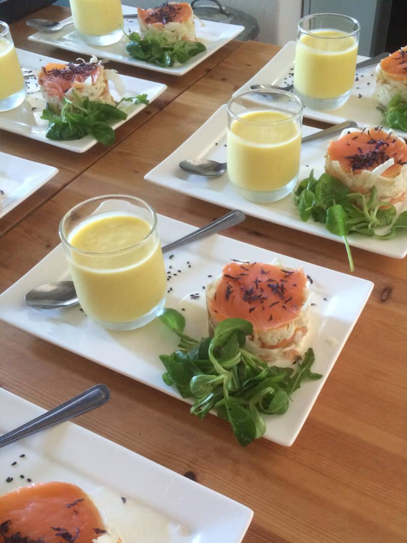 Heerlijke maaltijd bij Maison Charlotte