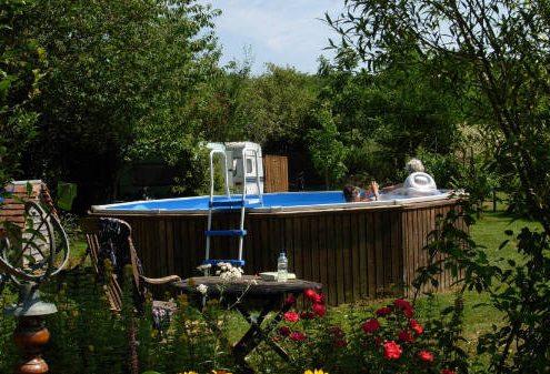 Zwembad Maison Charlotte